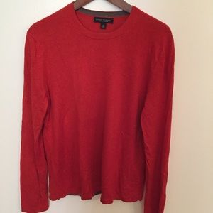 Banana Republic silk cashmere crewneck sweater
